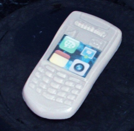 Soap in the Shape of a BlackBerry Cell Phone