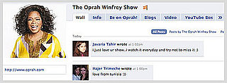 Oprah Winfrey Is On Facebook!