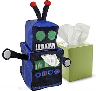 Robot Tissue Box Cover From Perpetual Kid Is $25