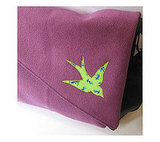Lime Swallow Messenger Bag