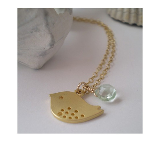Sweet Baby Sparrow Necklace