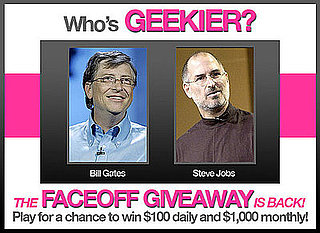 Play Our Who's Geekier Faceoff Game — For a Chance to Win $1,000 Monthly!