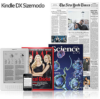Daily Tech: The New Kindle Gets Sized Up