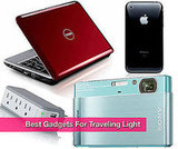 Light Gadgets For Travel Like Kindle, iPhone, Nintendo DSi