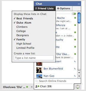 Facebook Enhances Privacy by Adding Group Filters in Chat