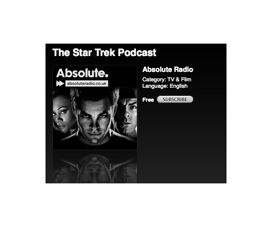 Star Trek Podcast