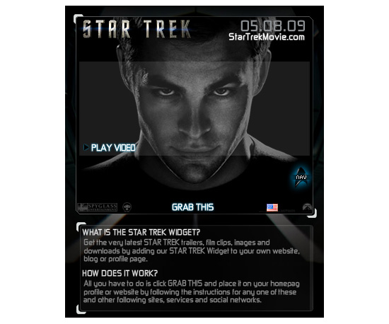Star Trek Widget
