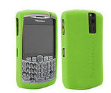 Lime Green Silicone BlackBerry Case