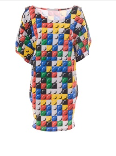 JC De Castelbajac Lego T-Shirt Dress at Far Fetch Costs $135