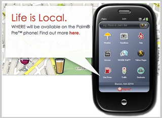 Where App Will Be Available On the Palm Pre On Launch Day