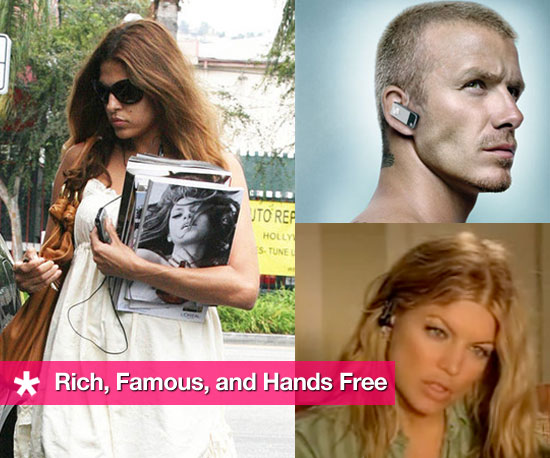 Rich, Famous, and Connected: Celebs Who Go Hands Free