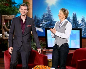 Nick Carter On the Ellen DeGeneres Show