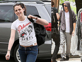 Photos of Twilight's Robert Pattinson in NYC; Kristen Stewart in LA