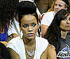 Slide Photo of Rihanna At NBA Lakers Final in Orlando