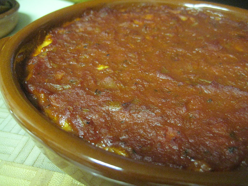 Baked Feta with Marinara