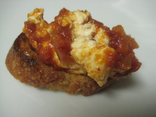 Say Cheese! Baked Feta With Marinara