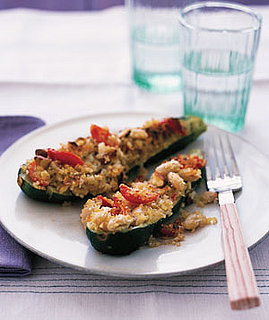 Fast & Easy Dinner: Zucchini With Quinoa Stuffing