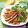 Fast &amp; Easy Dinner: Spinach Salad With Chili Pepper Chops