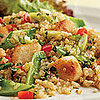 Fast &amp; Easy Dinner: Quinoa Salad With Scallops &amp; Snow Peas