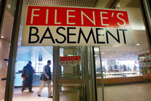 Filene's Basement Files For Bankruptcy