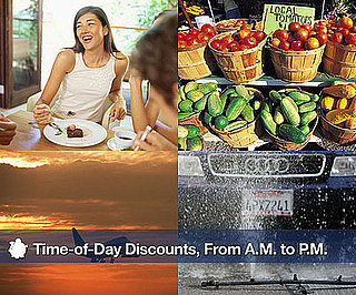 Time-of-Day Discounts, From A.M to P.M