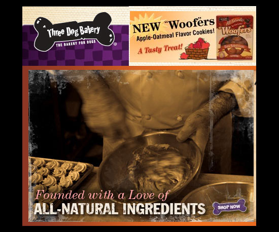 Apple-Oatmeal Woofers