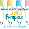 Win a Years Supply of Pampers! 