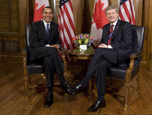 """O"" Canada — Obama Receives Warm Welcome Up North"