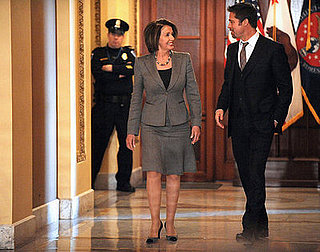 Brad Pitt and Nancy Pelosi