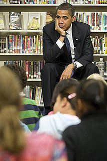 Obama Schools Americans on Broken Education System
