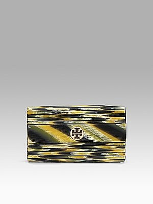 Tory Burch - Pleated Clutch - Saks.com