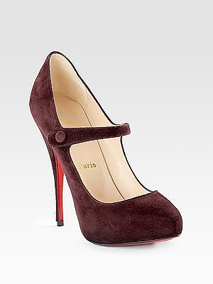 Christian Louboutin - Decocolico Mary Jane Pumps - Saks.com