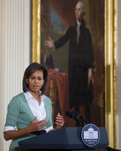 Michelle Obama Honors Black History Month