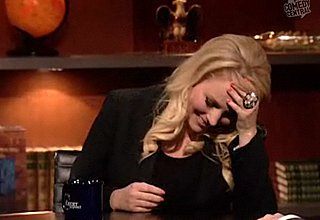Meghan McCain Talks to Stephen Colbert on the Colbert Report