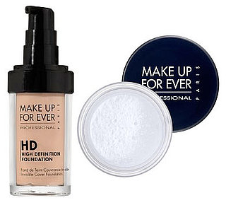 Wednesday Giveaway! Make Up Forever HD Invisible Cover Foundation and HD Microfinish Powder