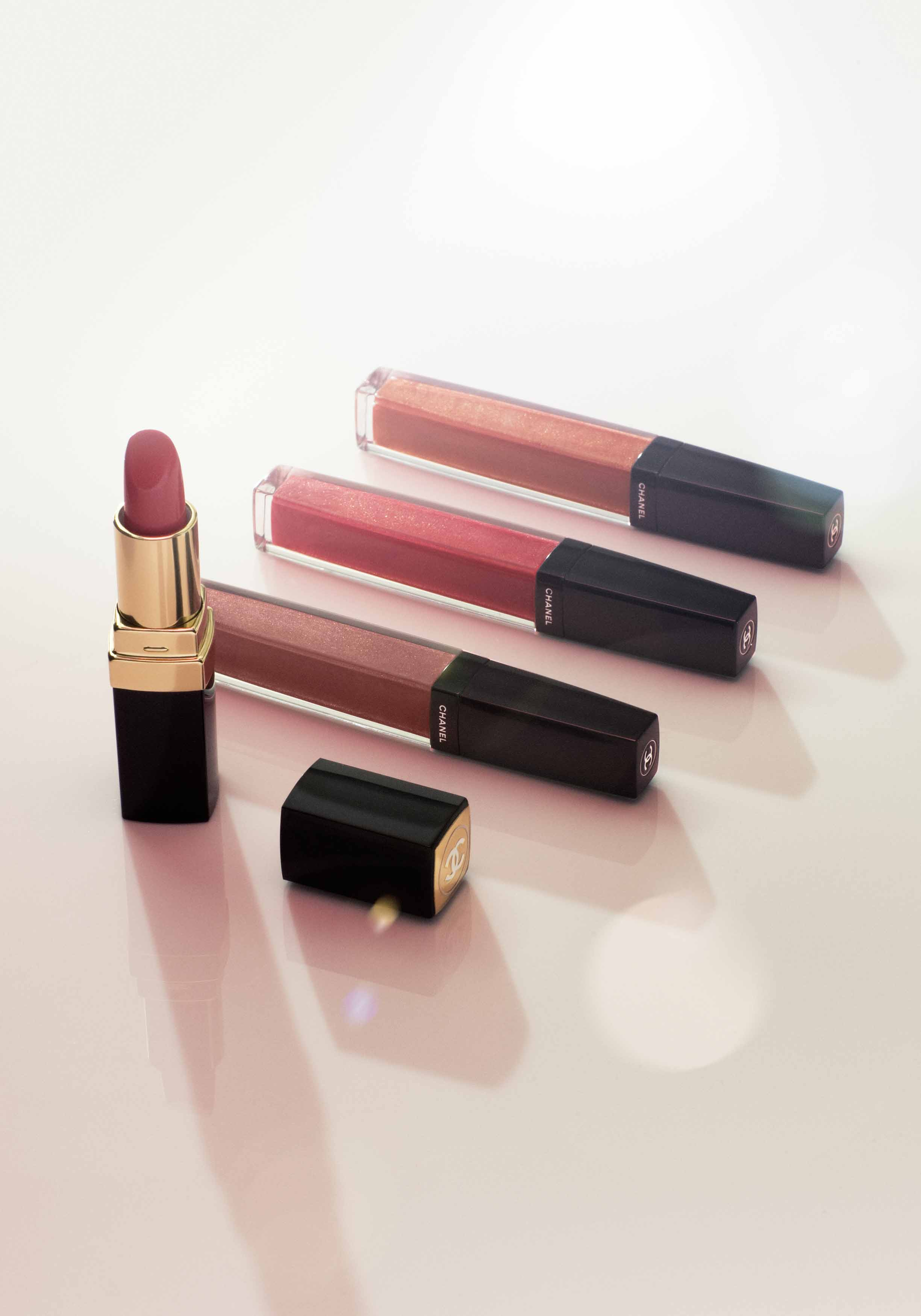 Aqualumière glosses and lipsticks