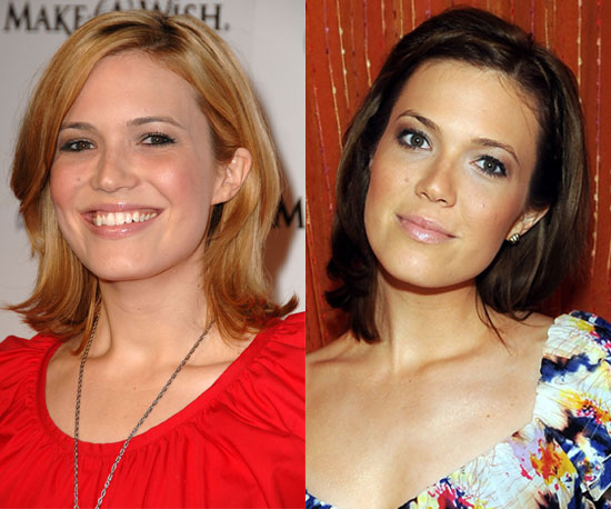 Which color do you like more on Mandy Moore?