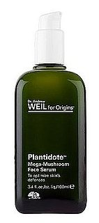 Review of Origins Dr. Weil Plantidote Mega-Mushroom Face Serum
