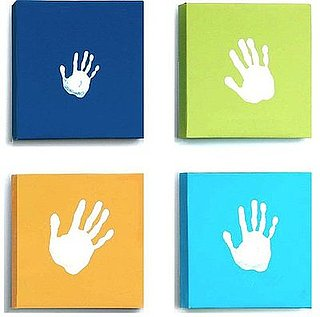 Pimp Your Crib:  Pearhead Handprint Canvas