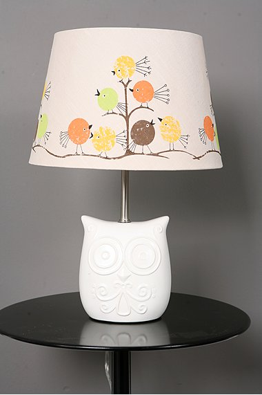 Wise Owl Lamp Base
