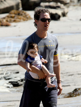 Matthew and Levi McConaughey