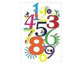 Bright Numbers Poster