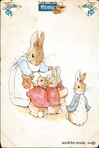 Original Peter Rabbit by Beatrix Potter - Talkie Book ($1)