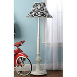 Damask Floor Lamp