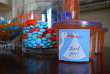 Sip and See Baby Shower:  Favors