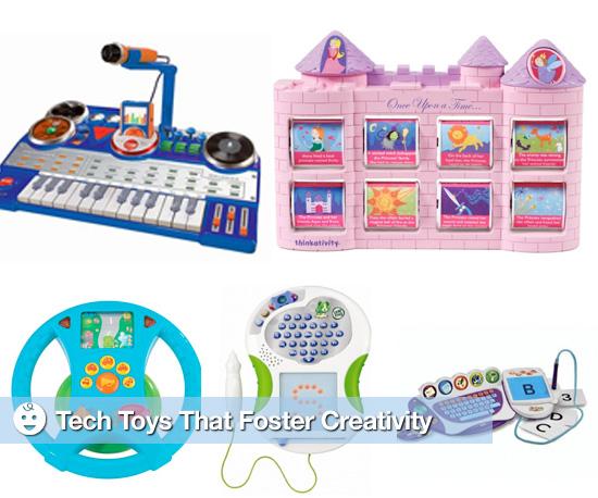 Tech Toys That Foster Children's Creativity
