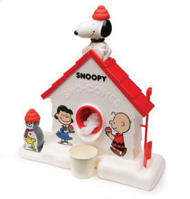 Blast Back From the Past: Snoopy Sno-Cone Machine