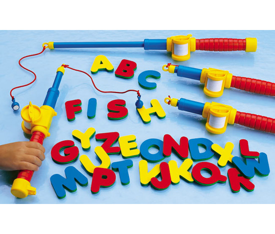 Magnetic Alphabet Fishing Set