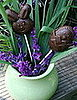 Delilicious: Easy to Make Chocolate Easter Lollipops