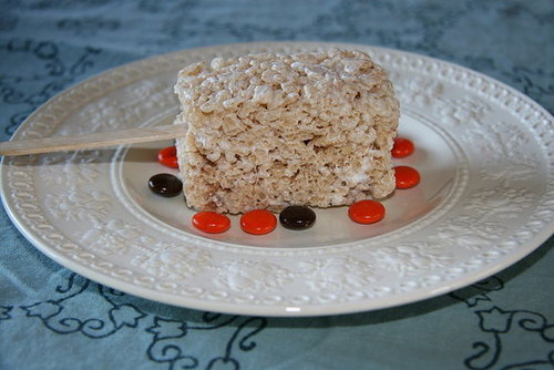 Rice Krispie Treats on Sticks